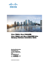 Cisco VG202 Hardware installation manual
